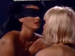 Alicyn Sterling, Raven in vintage sex video with arousing