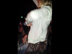 Pierced Nip Tit Flash - Yelawolf Concert