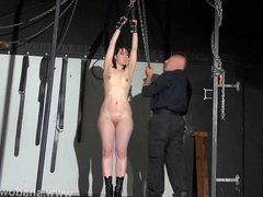 New amateur slave Honesty Cabelleros bondage and domination