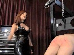 Hard spanking  2 Mistress