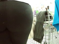 Milf butt at store