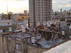 israeli public roof fuck