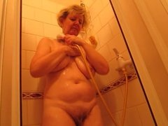 Ivana in shower