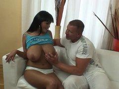 Super Hupen!!!! Presenting the tits of Jasmin