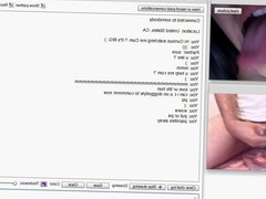 Chatroulette - Ass Stretching & tits for Cum