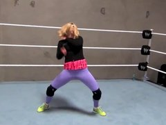 Lana (CJ Perry) Breakdancing