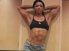 Gorgeous Korean Fitness Model