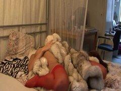 Soft fur coats