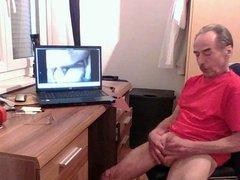 Rebutsam wichst auf Skype