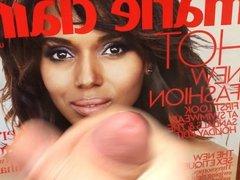 Fashion Magazine Cum Tribute Marie Claire - Kerry Washington
