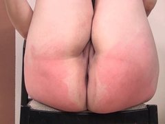 Casting Spank - Chubby Girl Punished - NERD BBW