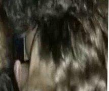 Big tits teen slut deepthroats and eats cum