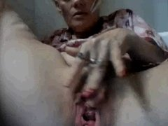 mature german rubs your pussy in cam