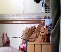 Roommate spy vid #2
