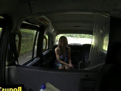 Busty amateur eurobabe enjoys kinky sex in cab