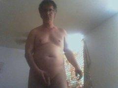 single nudist male