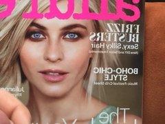 Fashion Magazine Tribute Allure - Julianne Hough