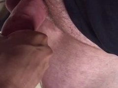 Stroking Daddy (Slow Motion Clip)