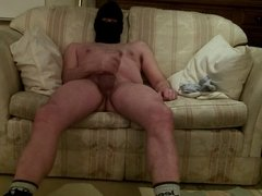 cock show and cum in my ski hood