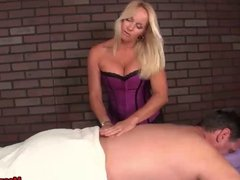 Big titted milf domination