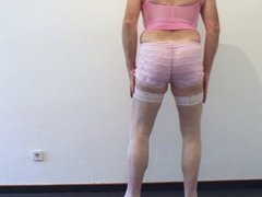 Pink Petticoat Strip