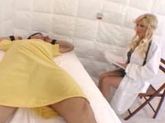 Diamond Foxxx providing a medical tared