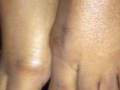 Load On Ebony Toes