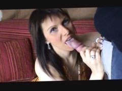 Cumslut 1 - She eat a tiramisu with the whole cum