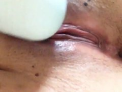 Close-up squirting pussy