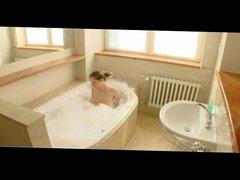Speedy Busty Hot Tub