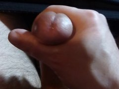 Cumming all over my hand again