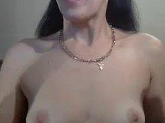 Russian mommy talks to a boy on webcam