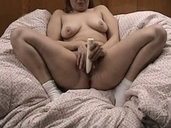 Mature wife toying cunt