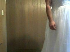 my wedding dress came ... yay