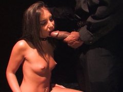 Giselle Leon takes on a big black cock