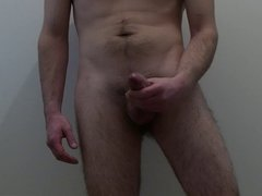 Soft to hard, stroking and cumshot.