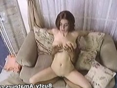 Busty Sarah sucking and fucking cock