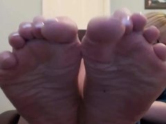 Milf hot french pedicure 2