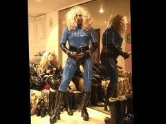 Roxina Blue Latex Lady X