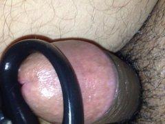 Desi dick wanking use with scissor