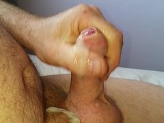 Small cock grow then cum