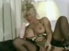 milf fucks herslf with big dildos and a cucumber