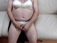 cum on bra and panties