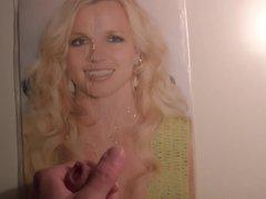 Britney Spears Cum Tribute 50