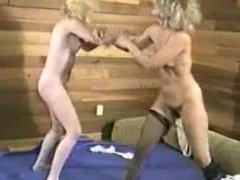 Blonde vs Blonde Catfight