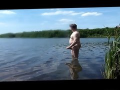 Open wank in lake