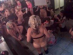Dressing room cam