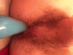 large anal plug tease