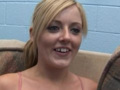 Sophie Dee really cute and sweet girl gangbang and DP