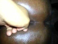 Toying BBW Ass